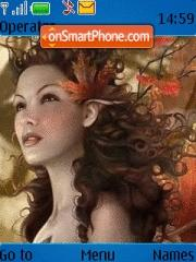 Fairies theme screenshot
