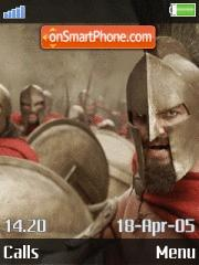 300 The Movie Theme es el tema de pantalla