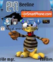 Скриншот темы Moorhuhn Piraten