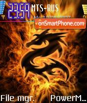 Dragon Spirit es el tema de pantalla