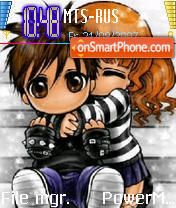 Hugs n Kisses theme screenshot