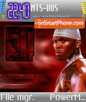 50 Cent v4 theme screenshot