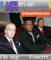 50 Cent v9 es el tema de pantalla
