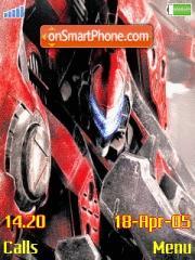 Armored Core theme screenshot