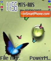 Butterfly Theme theme screenshot