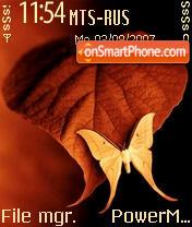 Butterfly 115 es el tema de pantalla