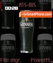 Guinness 01 theme screenshot