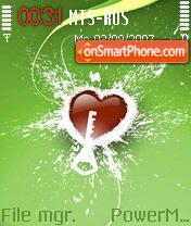 Green Heart es el tema de pantalla
