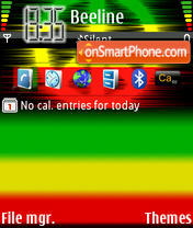 Rasta 01 theme screenshot