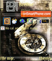 Clock 01 theme screenshot
