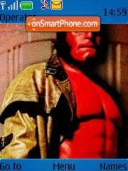Hellboy 01 theme screenshot