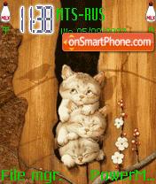Animated Kitties es el tema de pantalla