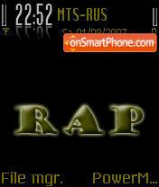RAP 01 es el tema de pantalla