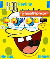 Sponge Bob 02 theme screenshot