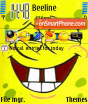 Sponge Bob 2 theme screenshot