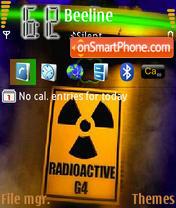 Radioactive tema screenshot