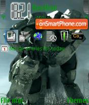 Halo 3 Theme theme screenshot