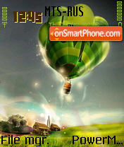 Baloon tema screenshot