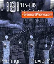 Animated Halloween House es el tema de pantalla
