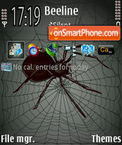 Arachnoids theme screenshot