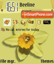 Flower 04 es el tema de pantalla