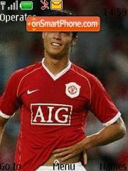 Ronaldo Animated theme screenshot