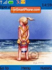 Beach Khaja theme screenshot