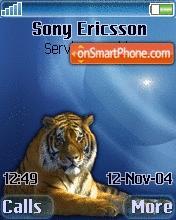 3d Tiger es el tema de pantalla