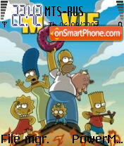 Simpsons Movie theme screenshot