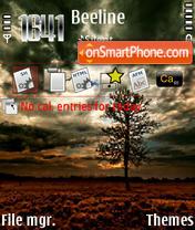 Flowers Autumn theme screenshot