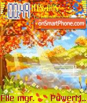 Animated Autumn es el tema de pantalla