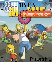 Simpsons The Movie theme screenshot