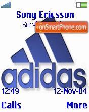 Скриншот темы Adidas 07