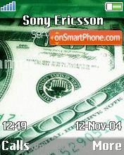 100 Dollar Bill theme screenshot