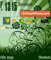 Скриншот темы Green Day 02