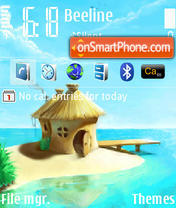 Cottage theme screenshot