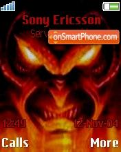 Evil Devil theme screenshot