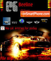 Need For Speed theme screenshot