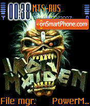 Iron Maiden 01 theme screenshot
