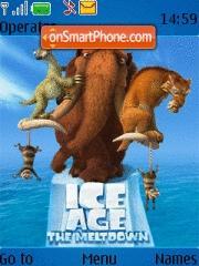 Capture d'écran Ice Age Ii thème