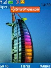 Burj ul Arab es el tema de pantalla