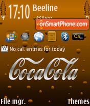 Скриншот темы Coca Cola 04