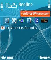 Blue DI theme screenshot