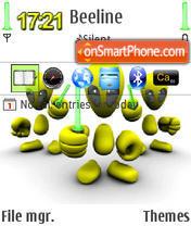 All For One QVGA theme screenshot