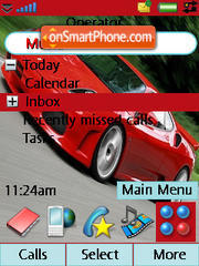 Ferrari F430 02 theme screenshot