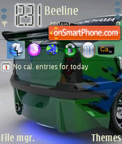 Renault Logan 01 es el tema de pantalla