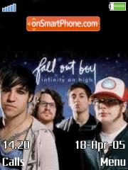 Fall Out Boy es el tema de pantalla