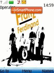 Franz Ferdinand theme screenshot