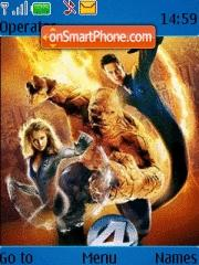 Fantastic 4 01 tema screenshot