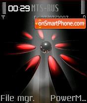 Red Flower 01 theme screenshot